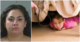 26χρονη μητέρα ξυλοκόπησε και ξύρισε τα κεφάλια των 4 παιδιών της επειδή της έφαγαν το παγωτό