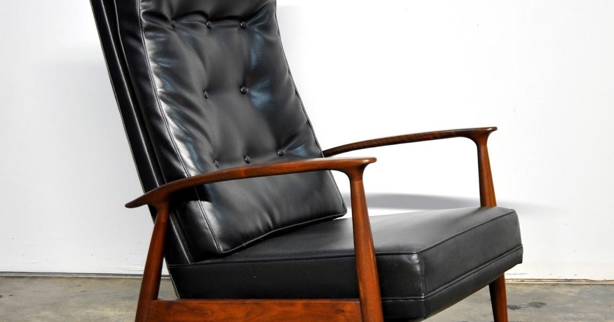 SELECT MODERN Milo Baughman For Thayer Coggin Inc Recliner Lounge Chair