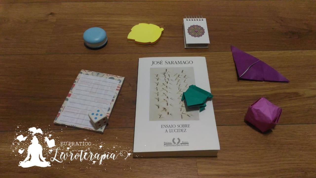 88c1baa64 Eu Pratico Livroterapia: Ensaio sobre a Lucidez - José Saramago