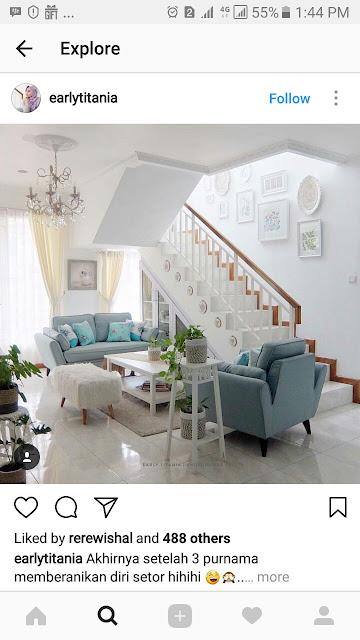 Reling tangga minimalis