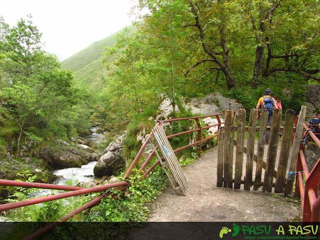 Puente El Escobín sobre el río Casaño