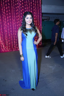 Anupama Parameswaran in lovely shaded gown ~  Exclusive 59.JPG