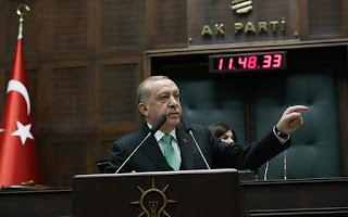 Ερντογάν: Ο στρατός και τα αεροπλάνα μας βάζουν τέλος σε κάθε απειλή