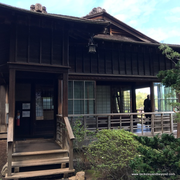 Japanese house at Hakone Gardens in Saratoga, California