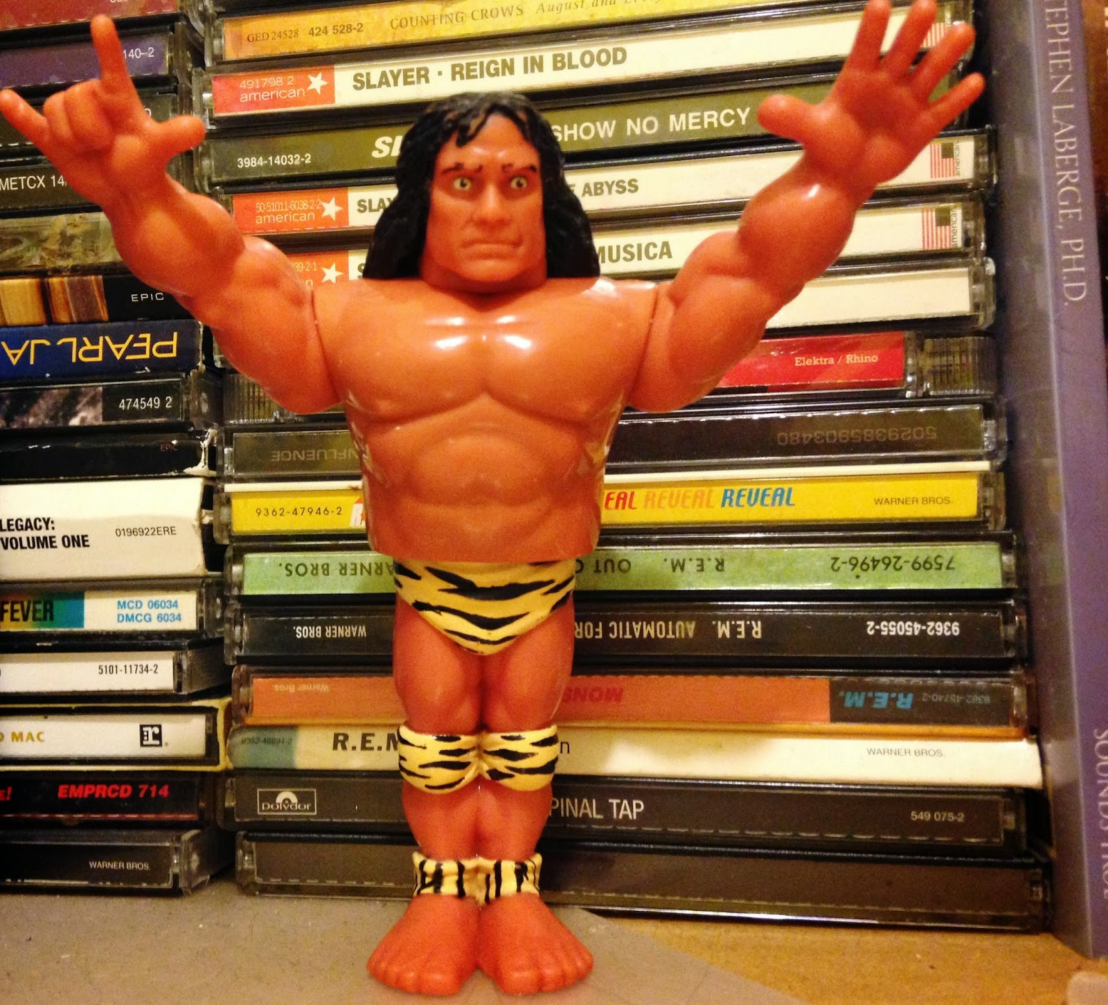 WWF Hasbro Figures - Jimmy 'Superfly' Snuka
