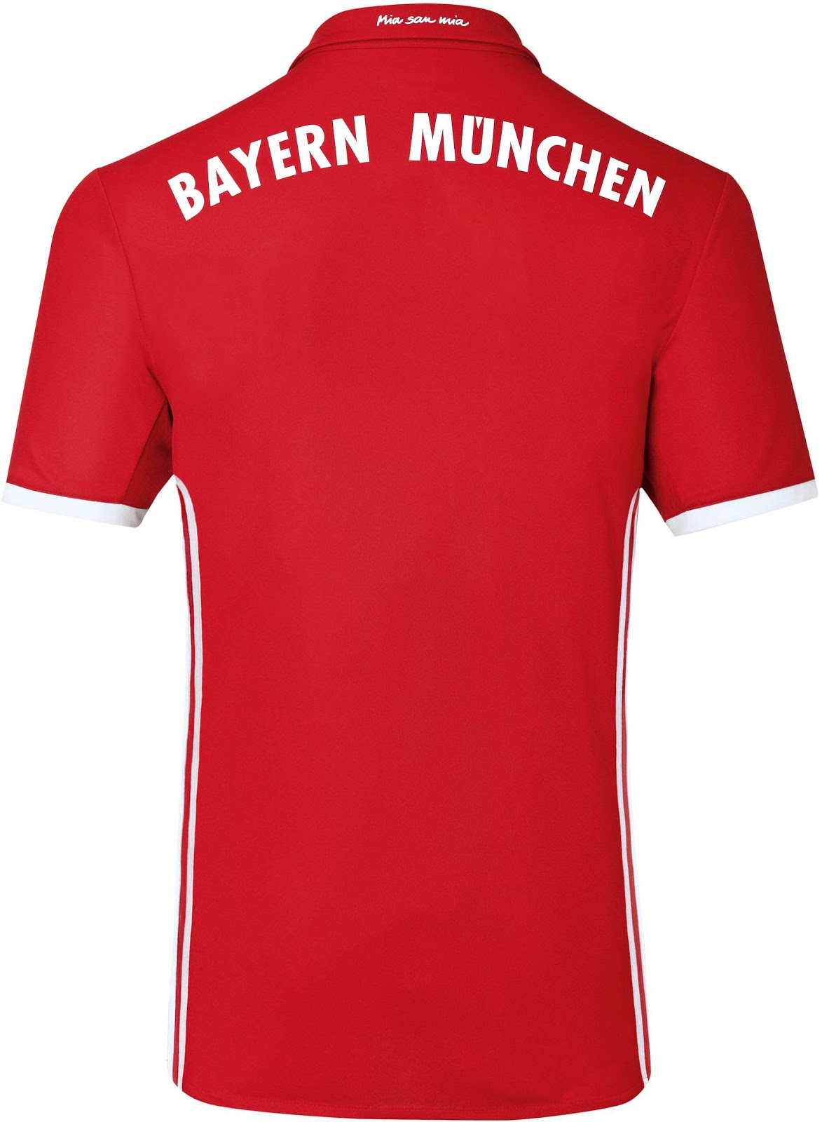 das ist das neue adidas bayern m nchen 2016 2017 trikot. Black Bedroom Furniture Sets. Home Design Ideas