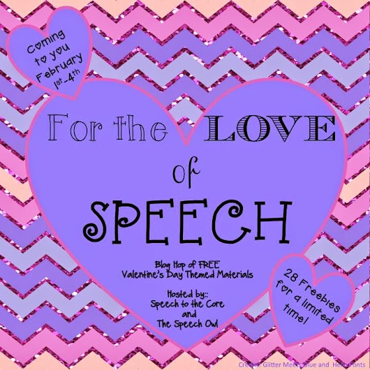 For The Love of Speech Blog Hop: Prepositions