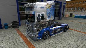 Severní Hvězda Real skin for Scania RJL by EviL