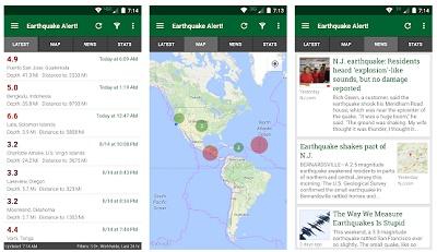 aplikasi android pendeteksi tsunami