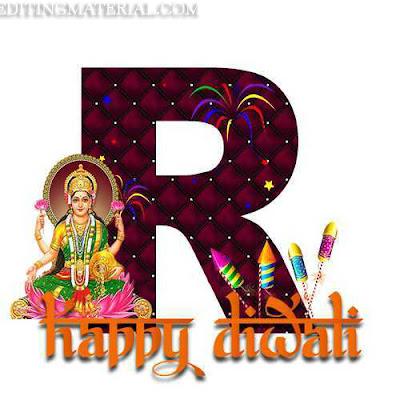 R name image diwali