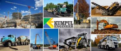 alat pengaspalan, excavator, mixer truck, truck molen, cp, crane