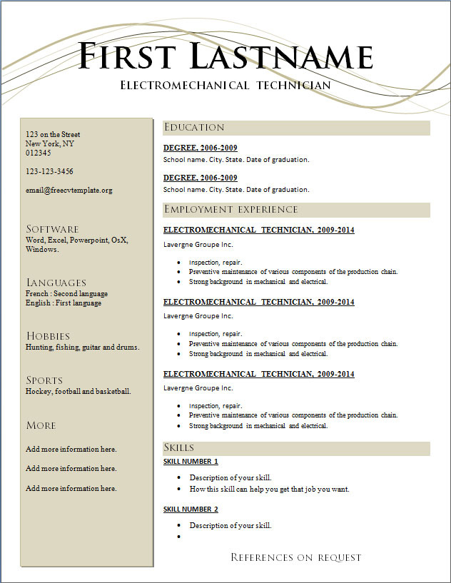 Resume Template 2017 Free Download Word The Only One Ever Need Acting Google  Docs Templates For . Docs Resume Templates ...