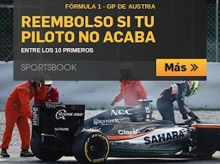 betfair bono 25 euros GP Spielberg Austria F1 3 julio 2016