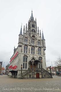 豪達, Gouda, 荷蘭, holland, netherlands, stadhuis, 市政廳