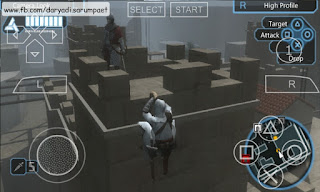 assassins creed bloodlines psp game climb sneak enemy tower