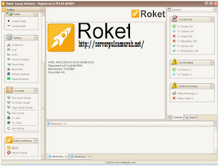 instal software Roket Pulsa