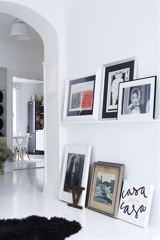 I d e a decorar con cuadros - Decorar pasillos con cuadros ...