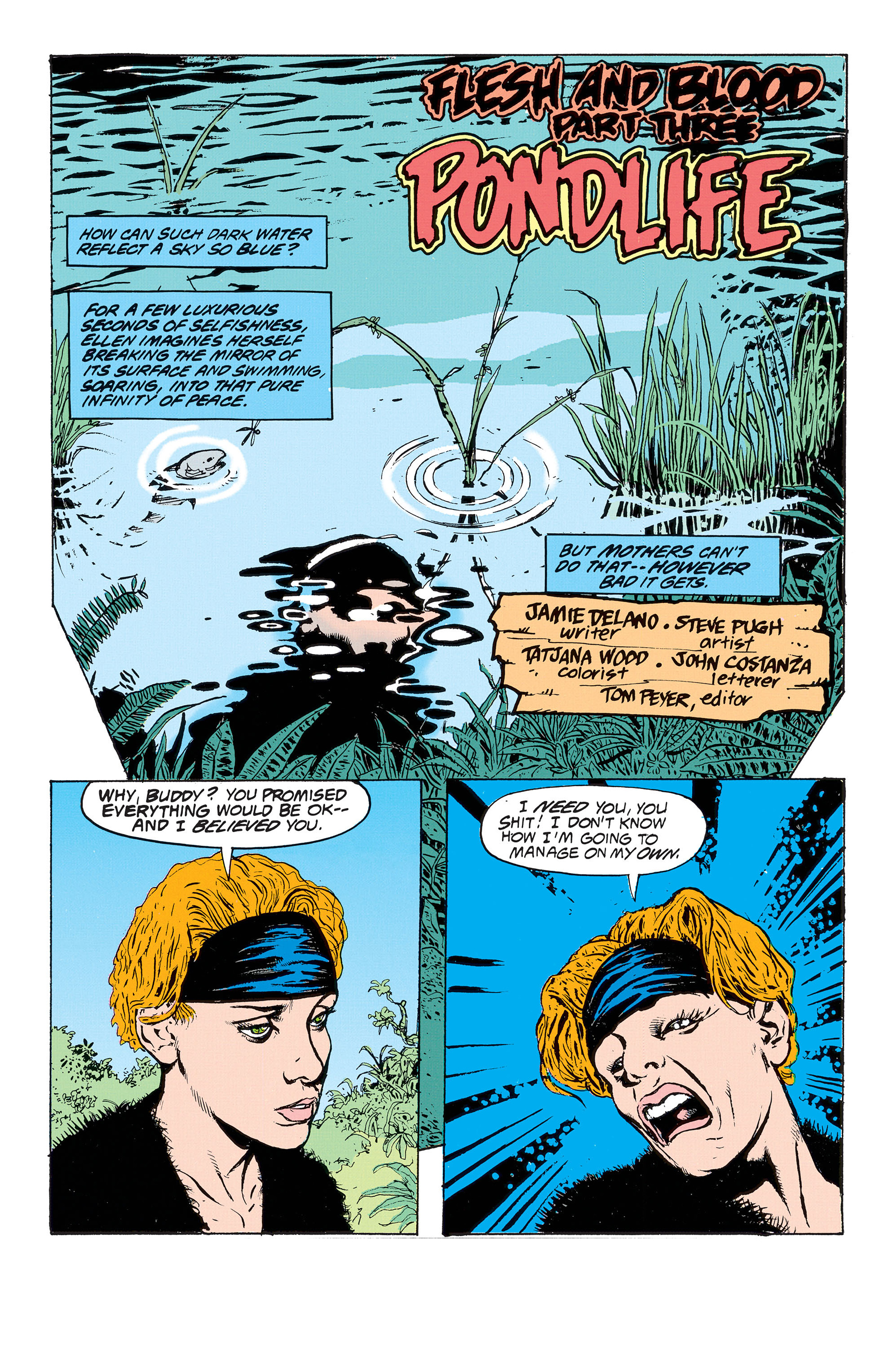 Read online Animal Man (1988) comic -  Issue #53 - 2