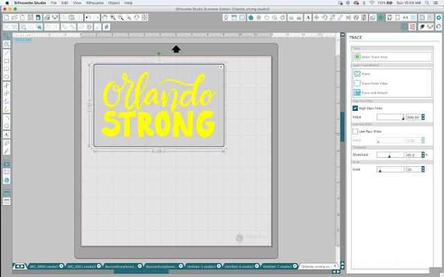 ipad, silhouette studio, drawing app, trace, hand lettering app