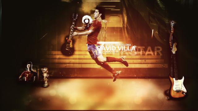 David Villa Wallpaper 2012 - 2013
