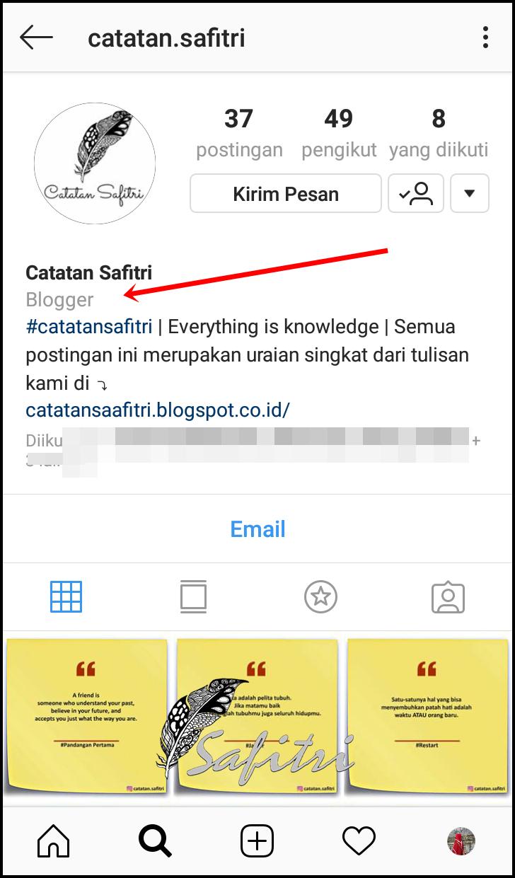 Perbedaan Akun Instagram Biasa Dan Akun Instagram Bisnis