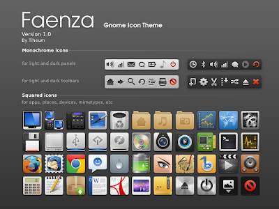 Faenza Icons for Ubuntu