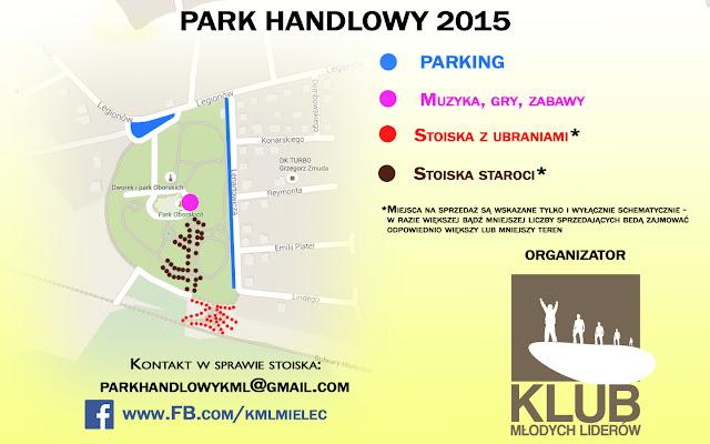 mapa park handlowy mielec targ staroci