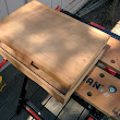 Herbie's World: Refurbishing a Wooden Box for a Shoe Shine Kit