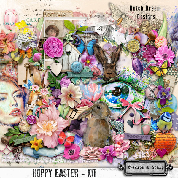 DUTCH DREAM DESIGNS HOPPY EASTER KIT