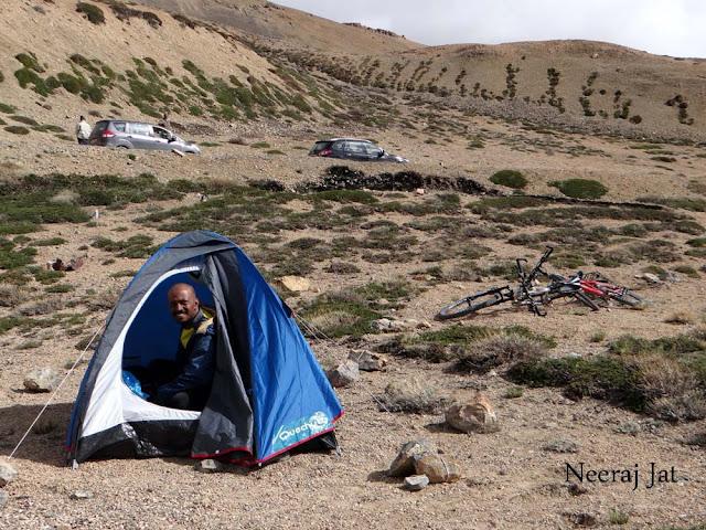 लद्दाख साइकिल यात्रा- नौवां दिन- नकी-ला से व्हिस्की नाला