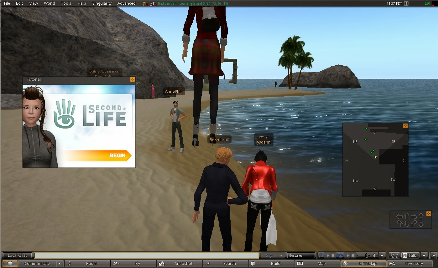 SL Newser - Other Grids, MMOs, and Games: Second Life vs