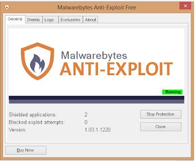 Malwarebytes Anti-Exploit إصدار جديد من برنامج الحماية العملاق Malwarebytes تعرف عليه الآن !