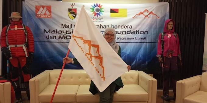 Majlis Penyerahan Bendera Malaysia Autism Foundation