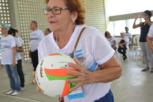 Jogos da Pessoa Idosa do Recife movimentam idosos da LBV