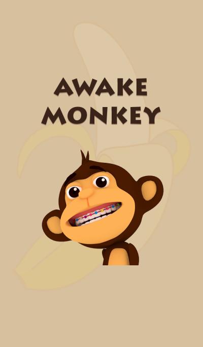 Awake Monkey