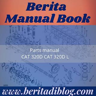 Parts manual CAT 320D CAT 320D L