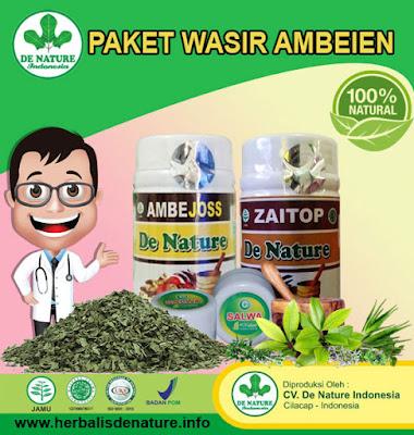 Obat Wasir Alami Dari De Nature