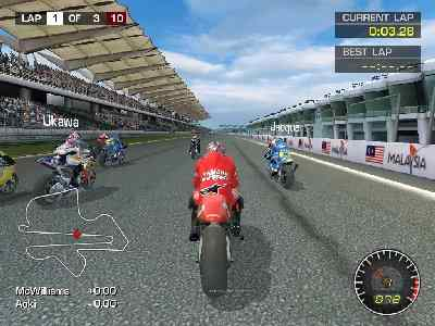 Moto GP 1 - Highly Compressed - PC Game Low Spec Free Download