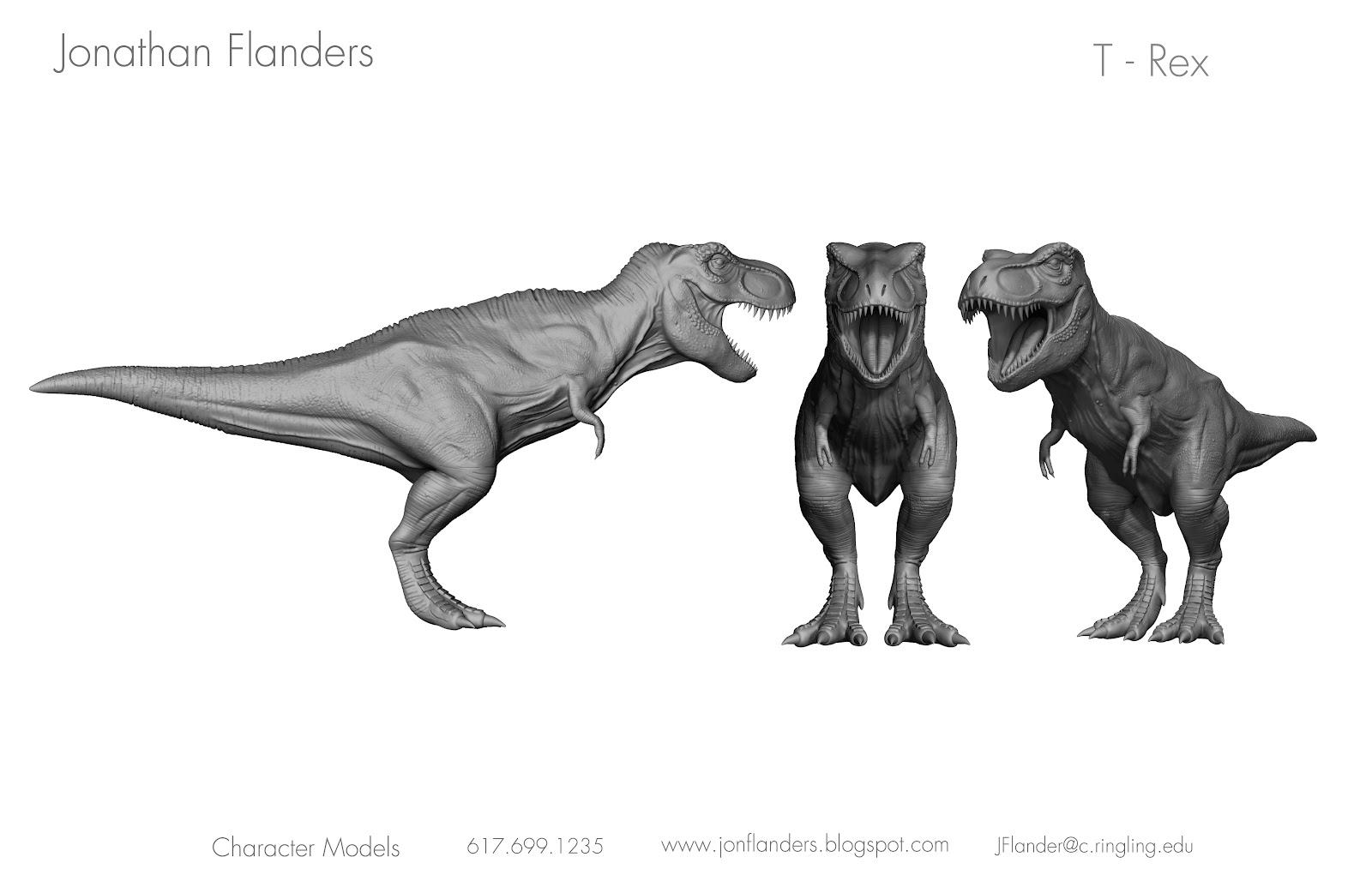 Jonathan Flanders T Rex