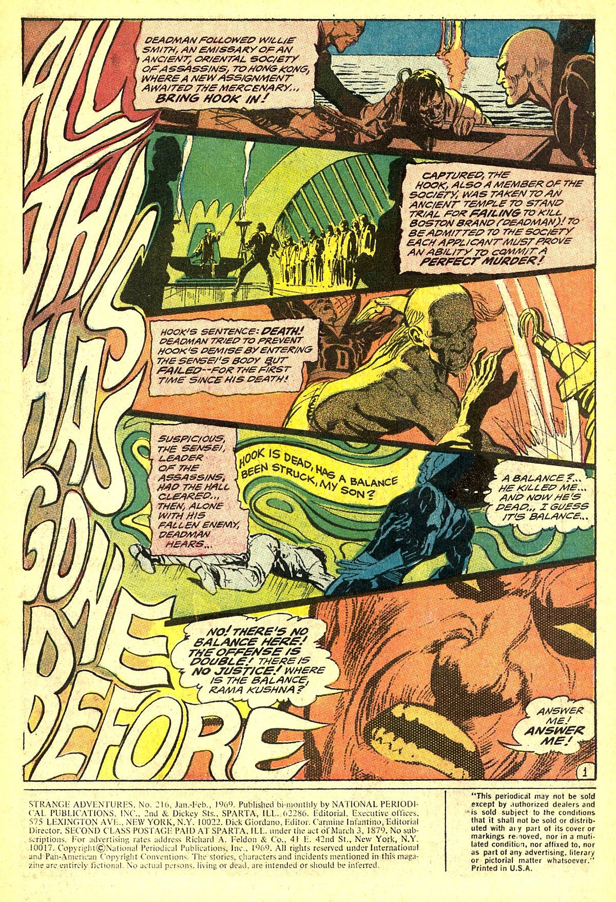 Strange Adventures (1950) issue 216 - Page 3