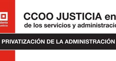 Ccoo justicia pa s valenci ccoo denuncia al ministerio for Nombre del ministro de interior y justicia 2016