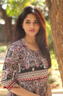 Actress Sunaina Latest Stills in Floral Dress at Pelliki Mundu Prema Katha Trailer Launch  0017.JPG