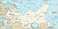 Ubicación del lago Baikal