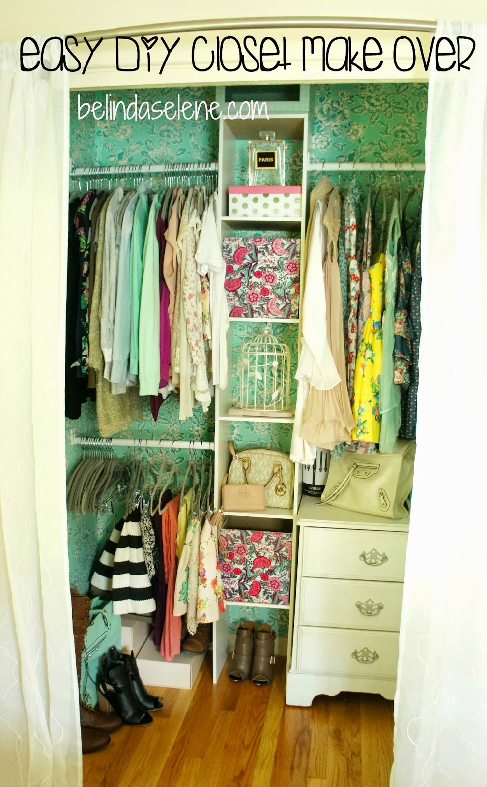 Easy DIY Closet Make Over