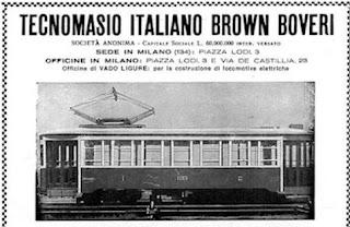 Tecnomasio TIBB Lodi tram milano