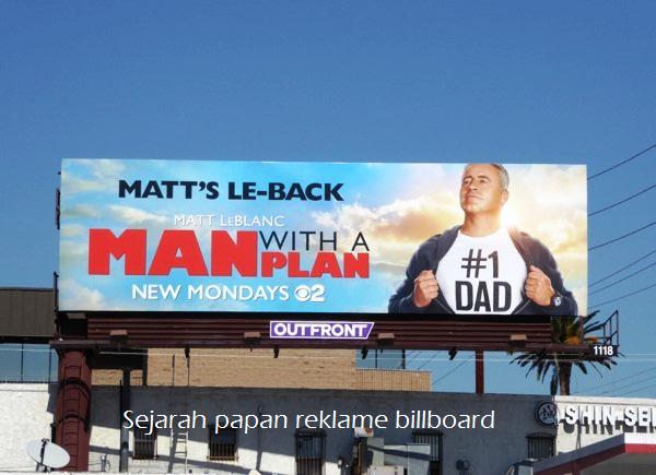 Sejarah Papan Reklame Billboard
