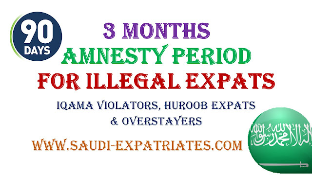 3 MONTHS AMNESTY PERIOD FOR ILLEGAL EXPATRIATES