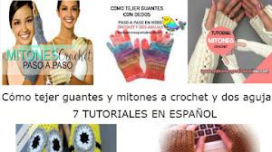 Aprende a tejer guantes y mitones muy bien explicados / DIY