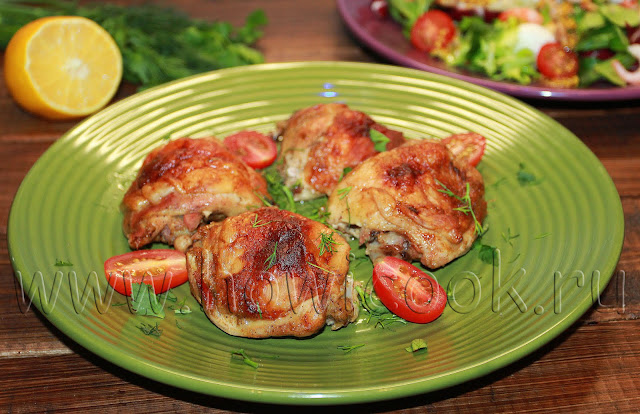 рецепт курицы, запеченной в горчице