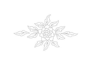 Embroidery design - Disegno per ricamo